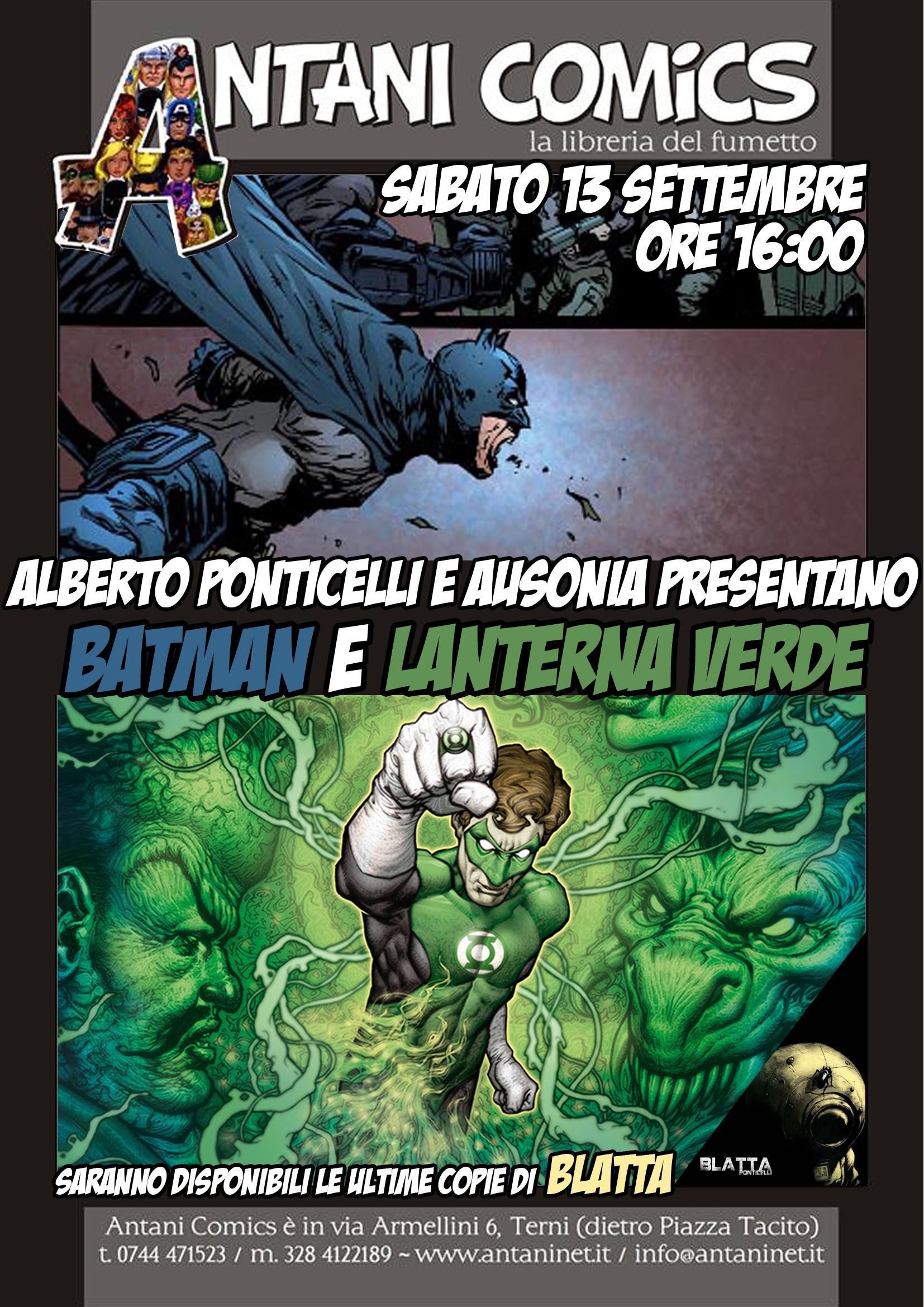 Prossimamente da Antani Comics...